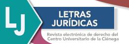 Acceso al sitio web de letras jurídicas