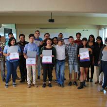 Alumnos de la Licenciatura de Periodismo y Mercadotécnia