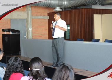 Participación del ponente Lic. Juan Ramón González Rodríguez