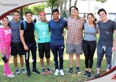 Alumnos del CUCIÉNEGA sede Ocotlán