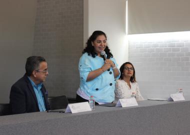 Mtra. Anisse Musalem Enríquez, Directora de la División de Ciencias Económicas y Administrativas