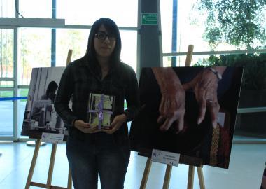 Mariel Roko ganadora de la mención honorífica