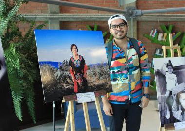 Sergio Pérez Hernández ganador del primer lugar del concurso