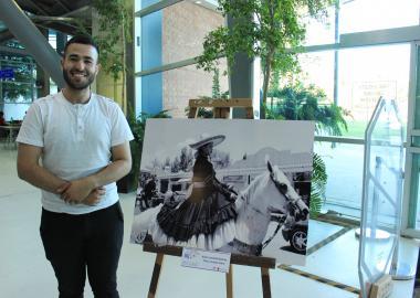 Leonardo Gutiérrez participante del concurso