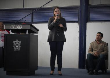 Mtra. María Felícitas Parga Jiménez Rectora del CUCIÉNEGA