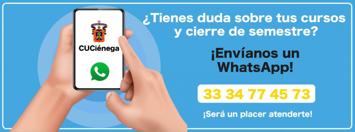 Whatsapp de apoyo