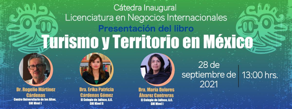 Presentación del libro Turismo y Territorio de México