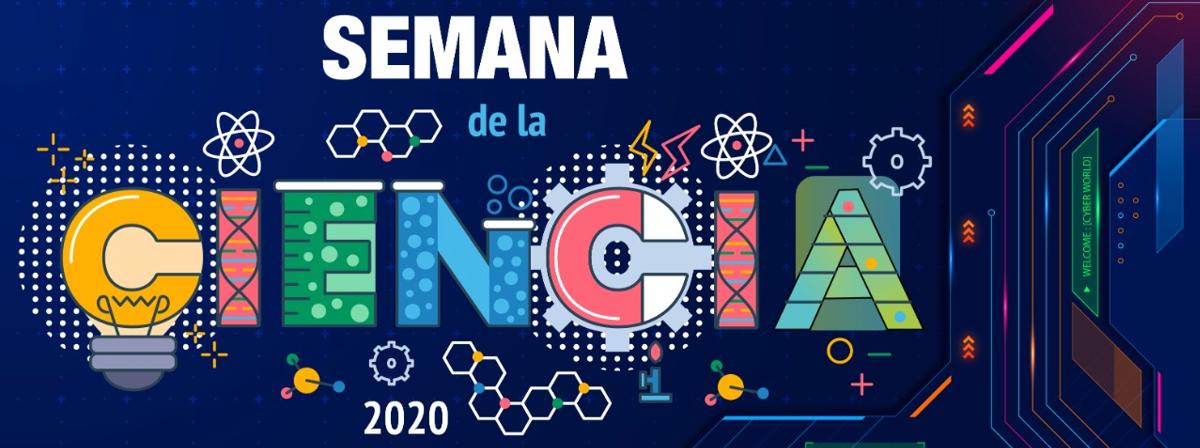 Sitio con la información sobre la Semana de la Ciencia 2020