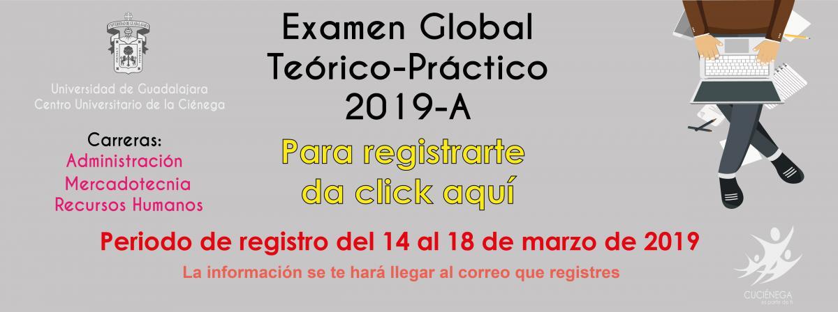 Link de registro para el Examen global teórico-práctico