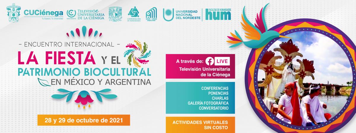 Encuentro sobre fiesta y patrimonio biocultural