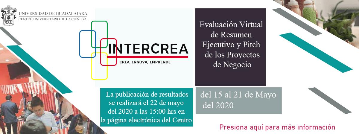 Información del INTERCREA 2020
