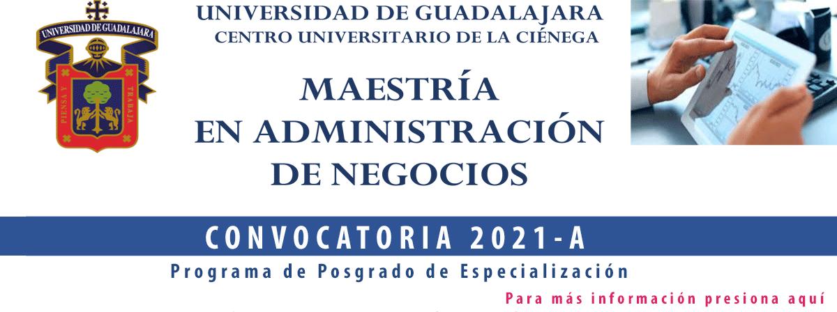 convocatoria Maestría en Administración de Negocios