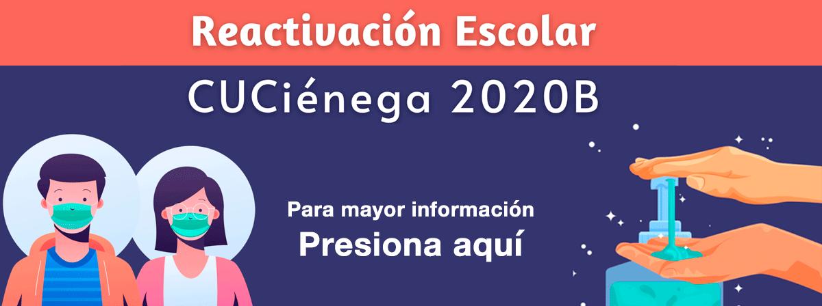 Información sobre la reactivación escolar 2020B